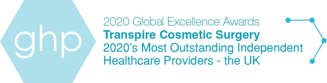 Transpire Cosmetic Surgery outstanding healthcare provider winner 2020, ghp