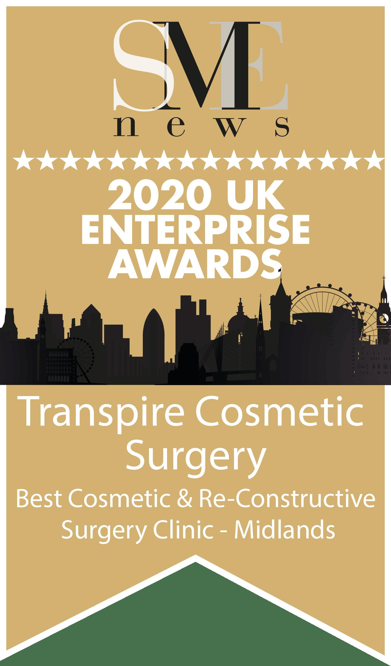 UK Enterprise Awards 2020 Winners Logo