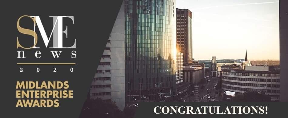 midlands UK enterprise awards winner 2020